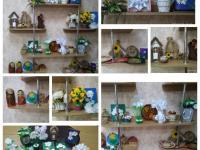 """Выставка работ посвященных мероприятию """"Белый цветок"""""""
